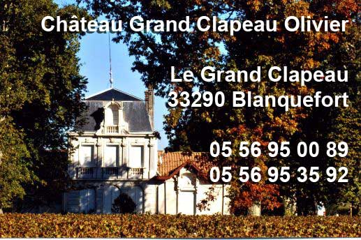 CHATEAU GRAND CLAPEAU